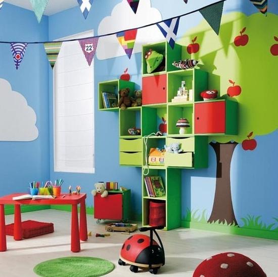 Pintar la habitaci n de juegos blog de pintura blog de - Ideas pintar habitacion infantil ...