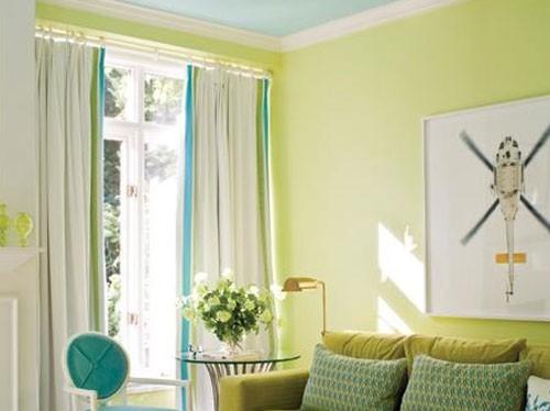 Pintura verde manzana imagui - Pintura para paredes colores ...
