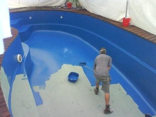 Pintar la piscina blog de pintura blog de pintura y for Piscinas enterradas baratas