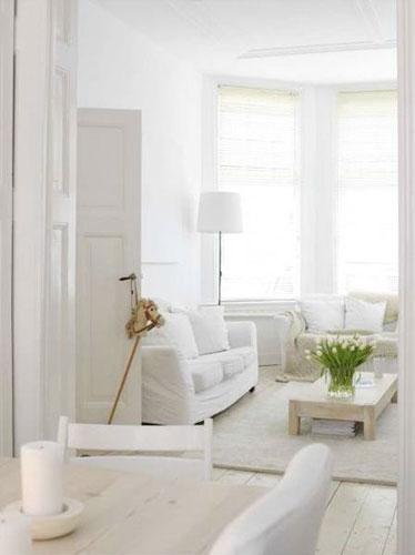 Colores para pintar blanco si quieres dar en el blanco - Pintura blanco roto ...