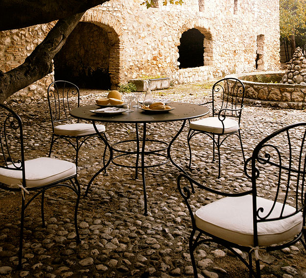 Como Pintar La Forja Blog De Pintura Blog De Pintura Y Decoracion - Muebles-de-forja-para-jardin