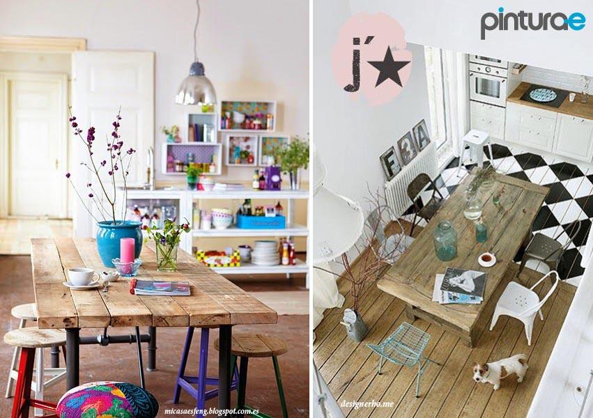 Pintar mesas de madera blog de pintura blog de pintura for Blog de decoracion