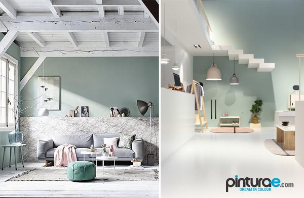 Verde pastel un color chic blog de pintura blog de - Colores verdes para paredes ...