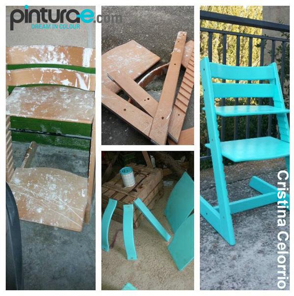 La pintura transforma los muebles blog de pintura blog de pintura y decoracion - Pintar sillas de madera ...