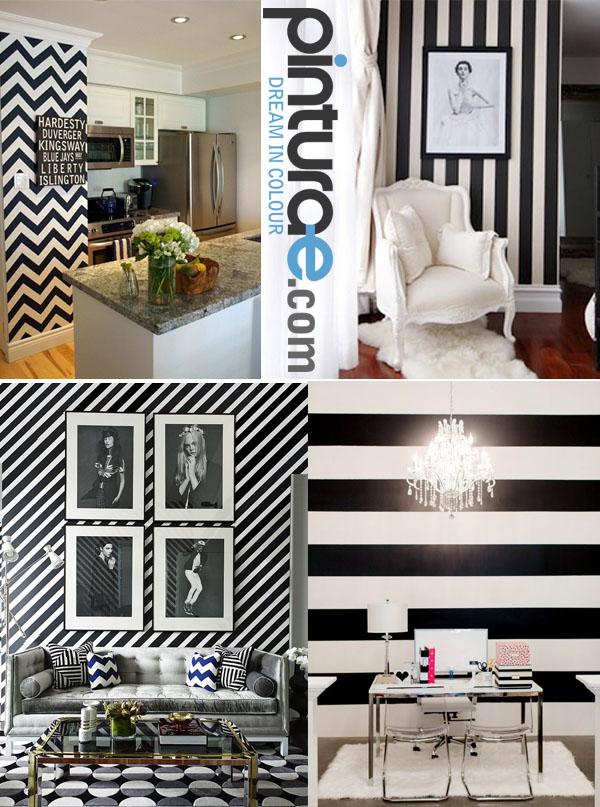 Blanco y negro blog de pintura blog de pintura y - Paredes pintadas con dibujos ...