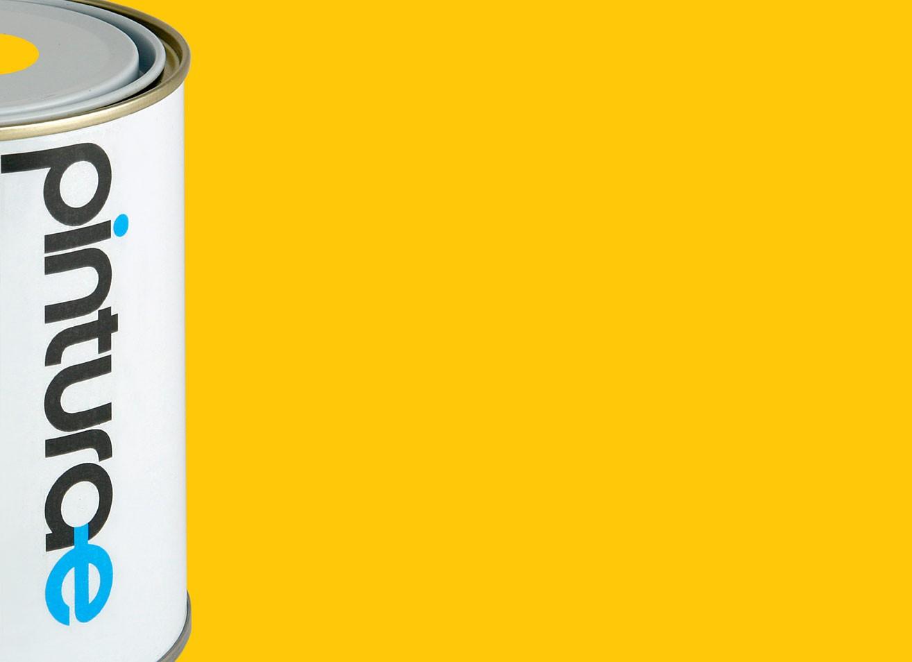 Esmalte amarillo real brillante for Que color asociar con el azul turquesa