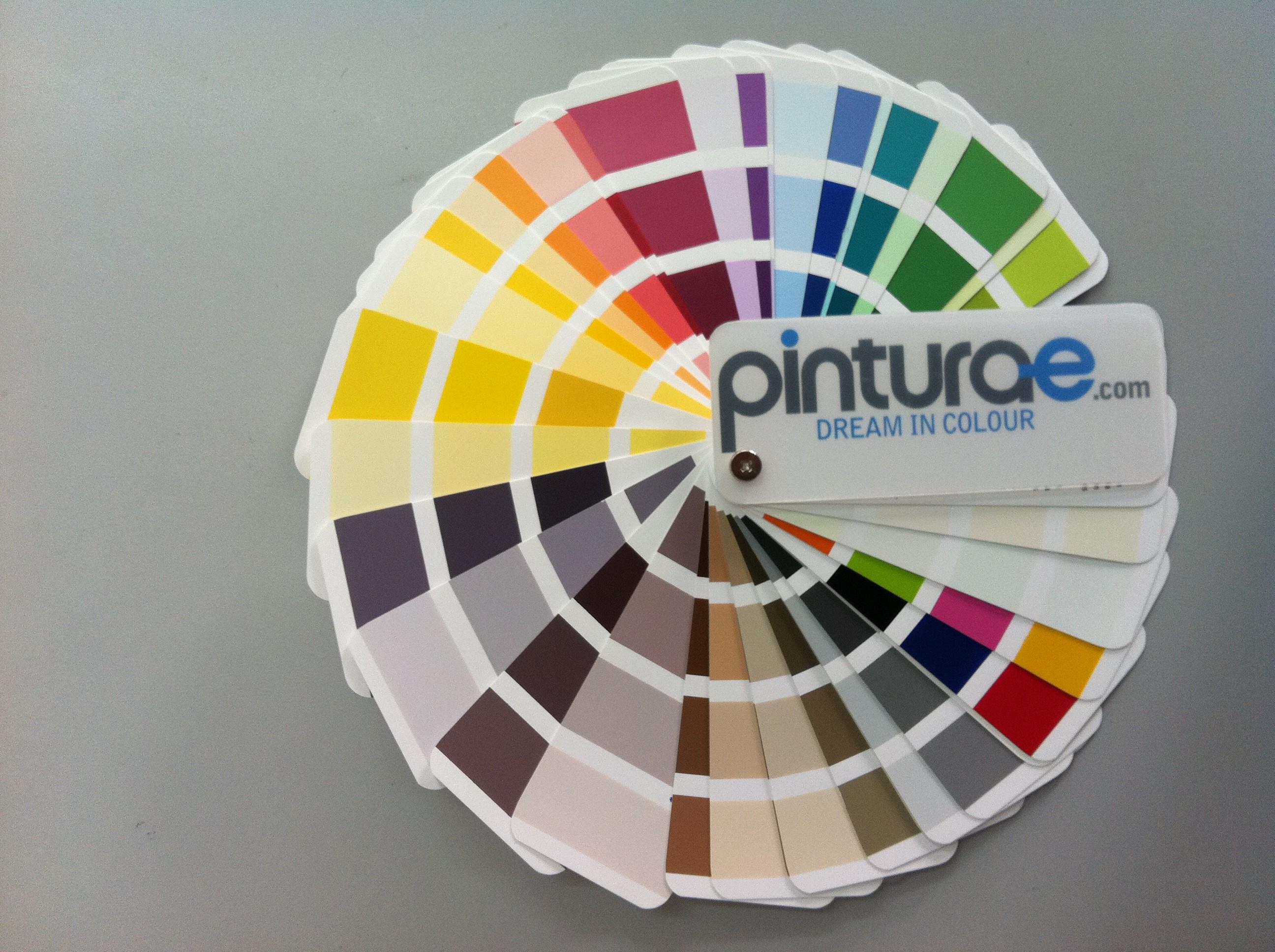 Carta de colores pintura carta de colores para paredes for Tabla de colores pintura interior