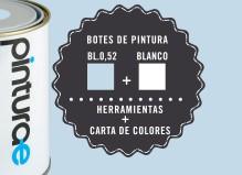 Oferta Azul + Blanco