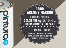 Room Combi Arena y Marrón