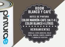 Room Combi Blanco y Café