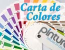 Carta de colores Pinturae