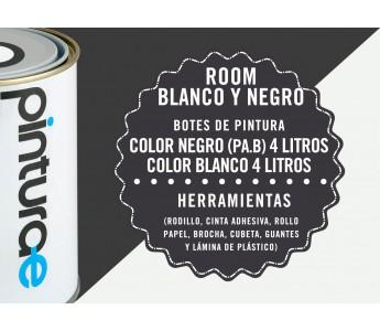 Room Combi Blanco y Negro
