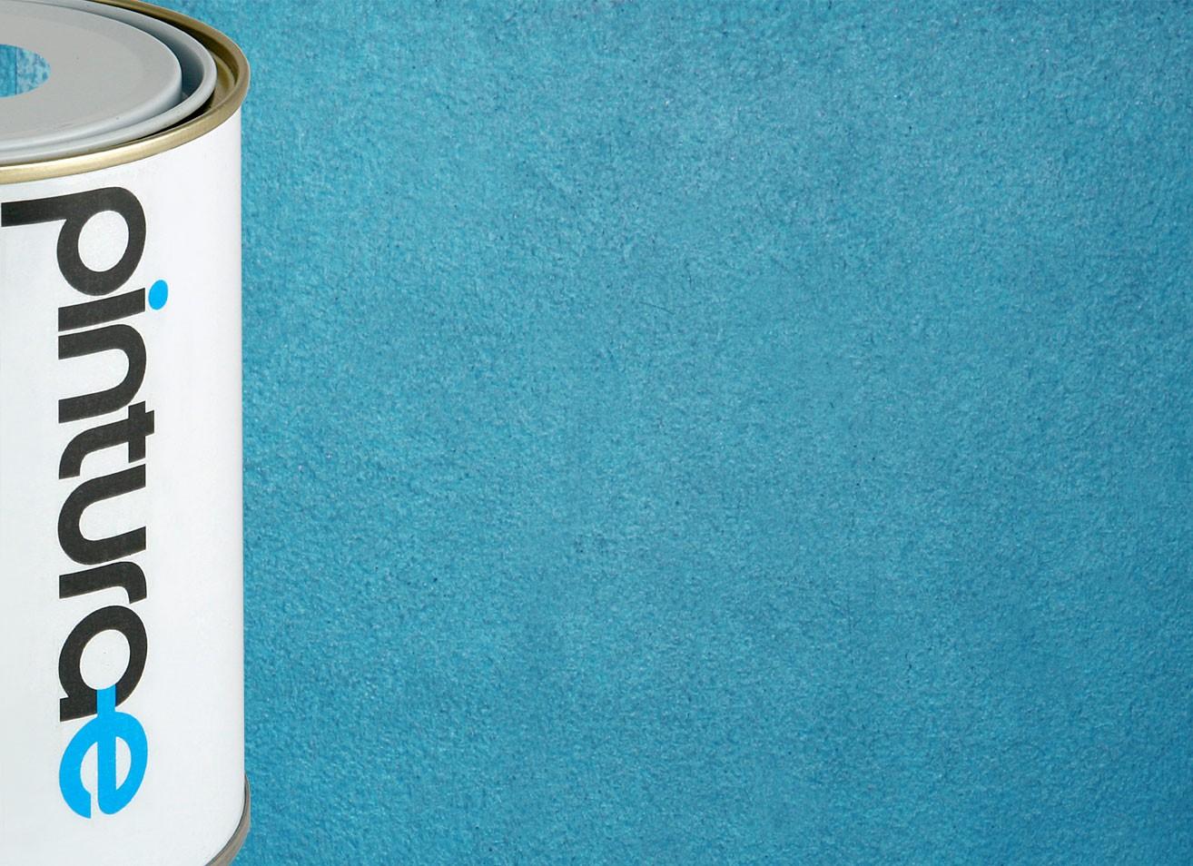 Pintura efecto metalizado color azul oscuro for Pintura azul aguamarina