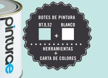 Oferta Azul Turquesa + Blanco